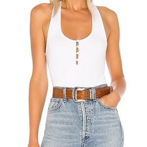 NWT Free People Ivory Hang Out Camisole Tank Top